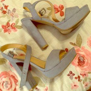 Blue Lauren Conrad Heels